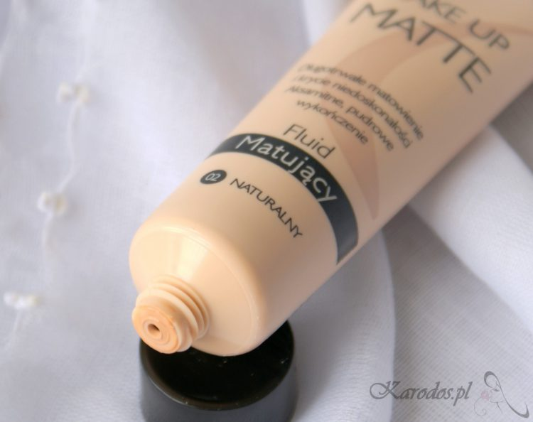Be Beauty, Make Up Matte, Fluid matujący z Biedronki