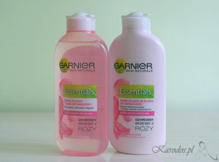 Garnier, Essentials, Mleczko i tonik do skóry suchej i wrażliwej