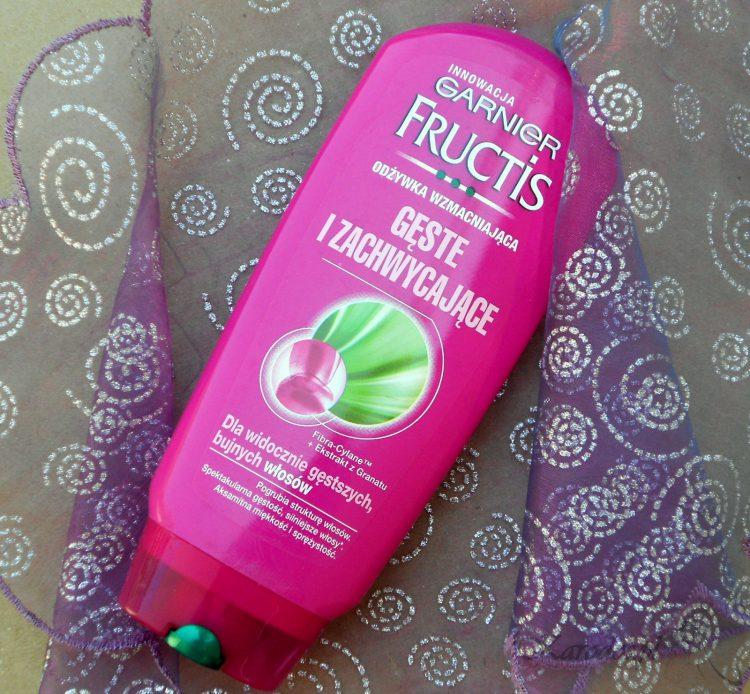 Garnier Fructis, Gęste i Zachwycające, Odżywka wzmacniająca do włosów