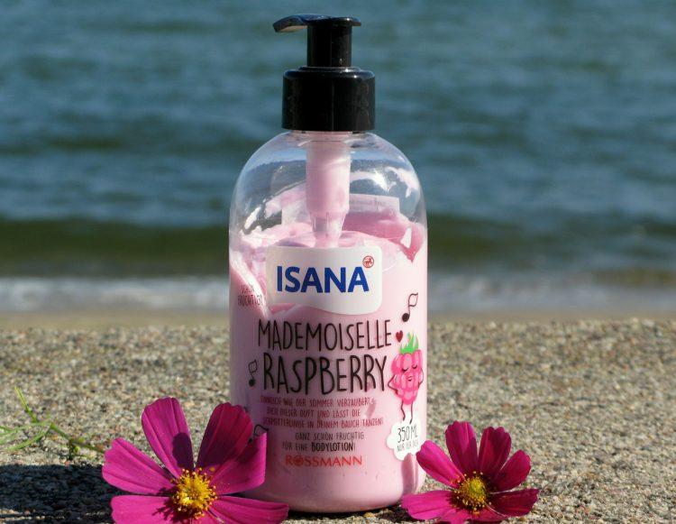 Isana, Mademoiselle Raspberry, Balsam do ciała 'Malina'