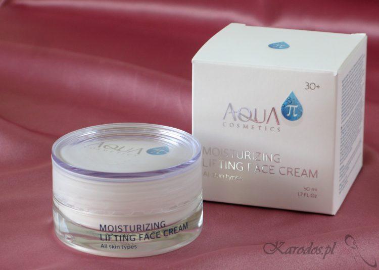 Aqua π Cosmetics, Moisturizing Lifting Face Cream, Intensywnie nawilżający krem na pierwsze zmarszczki