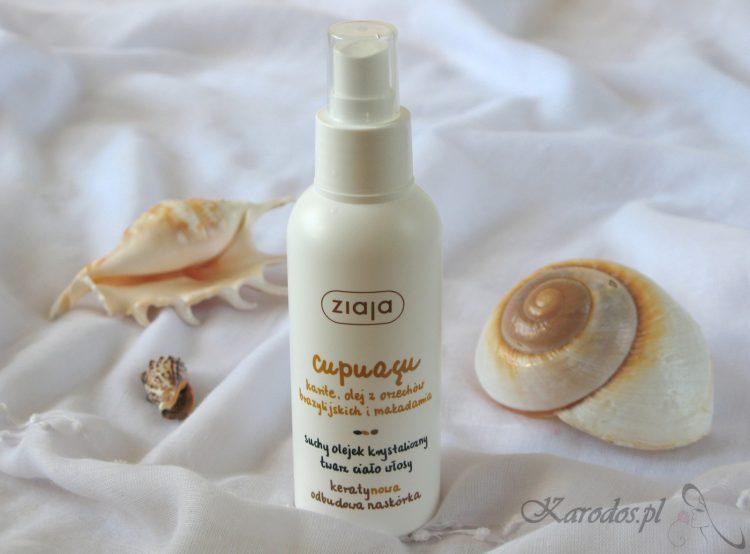 Ziaja, Cupuaçu, Krystaliczny suchy olejek do twarzy, ciała i włosów oraz mydło pod prysznic i do kąpieli