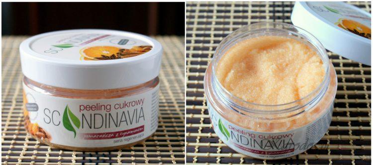 Scandinavia Cosmetics, Peelingi do ciała cukrowy i solny 'pomarańcza z cynamonem'