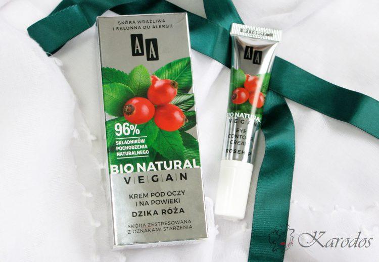 AA Bio Natural Vegan krem pod oczy i na powieki – opinia
