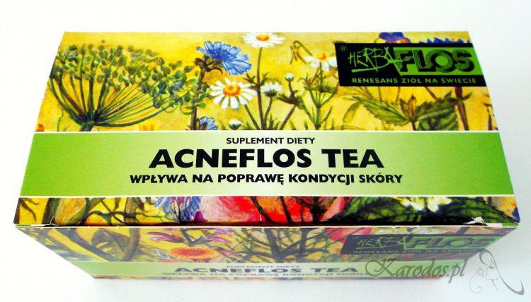 acneflos tea herbatka na cere