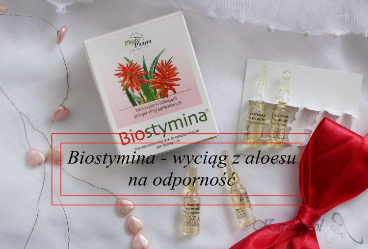 Biostymina – wyciąg z aloesu na odporność