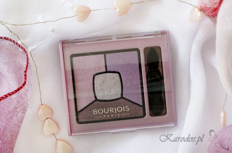 Bourjois Smoky Stories, paleta cieni – opinia