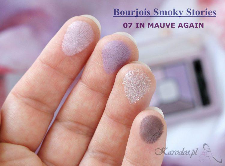 Bourjois Smoky Stories, paleta cieni – opinia