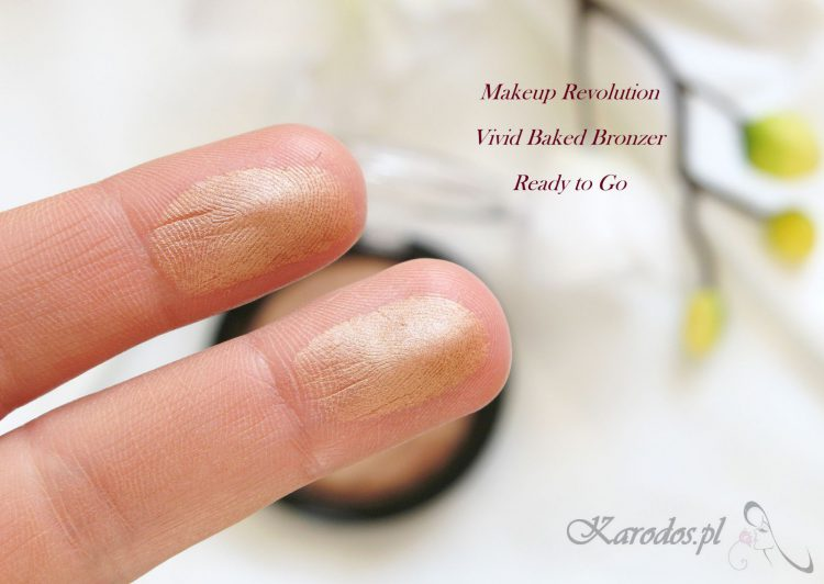 Makeup Revolution, Vivid Baked Bronzer – opinia
