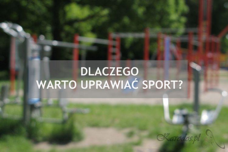 Dlaczego warto uprawiać sport?