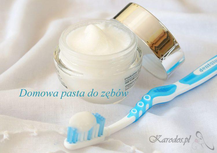 Domowa pasta do zębów bez fluoru
