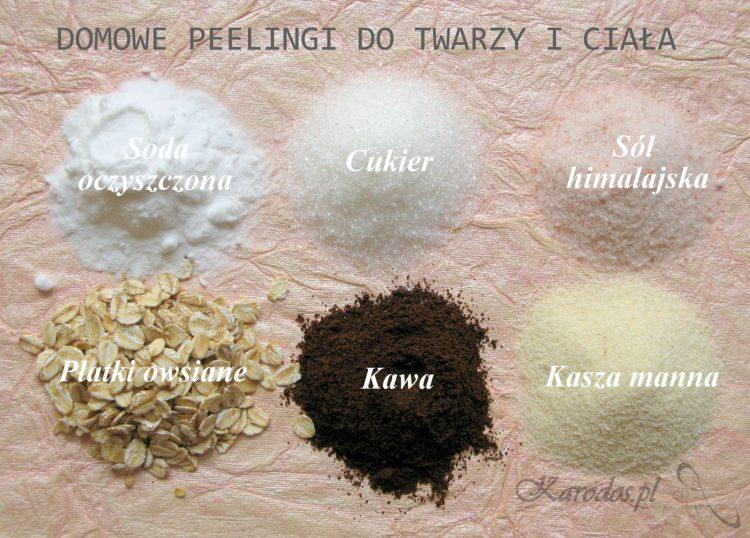 Domowe peelingi do twarzy i ciała