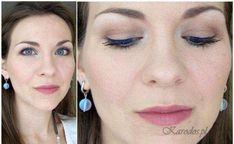 eyeliner eveline niebieski
