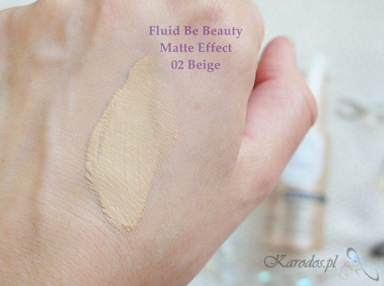 Nowy fluid matujący Be Beauty z Biedronki  – opinia