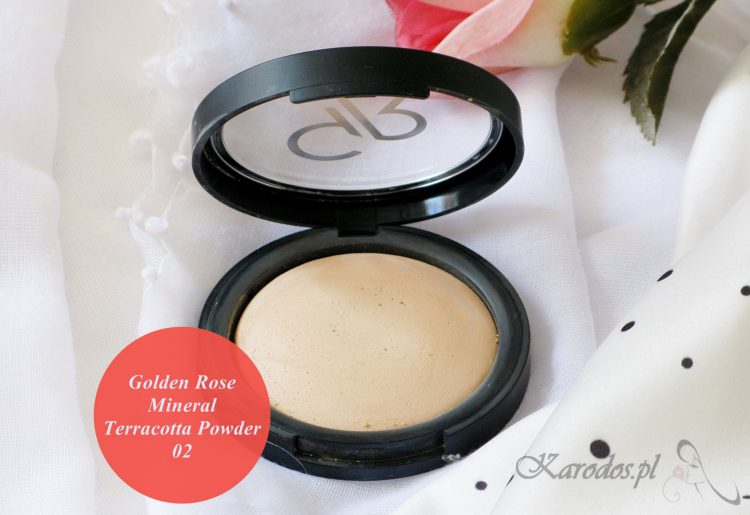 Golden Rose, Puder mineralny Terracotta – opinia