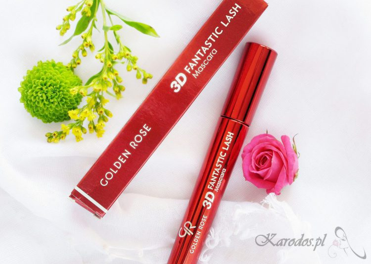 Golden Rose, Tusz do rzęs 3D Fantastic Lash Mascara – opinia