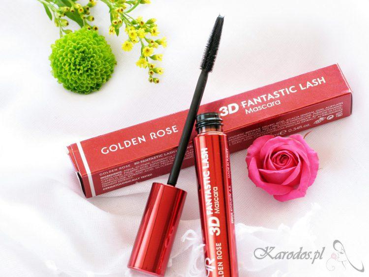 Golden Rose, Tusz do rzęs 3D Fantastic Lash Mascara – opinia