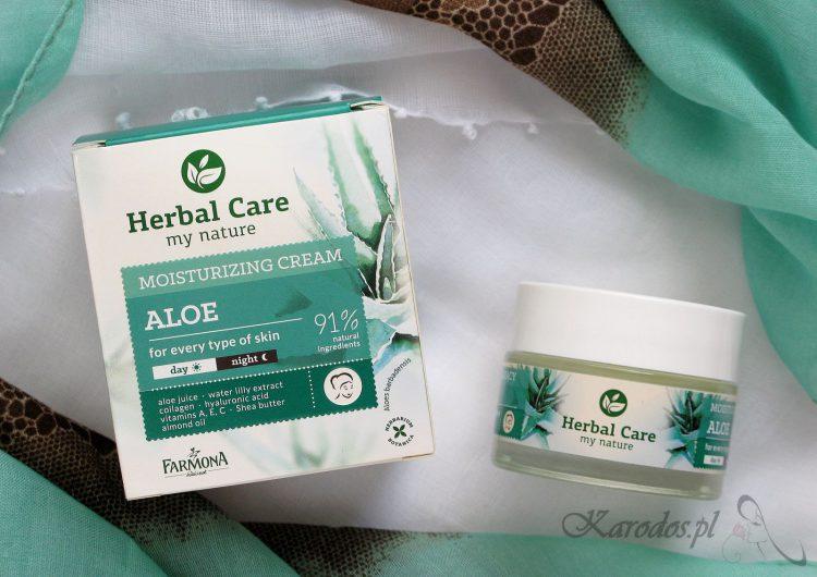 Herbal Care, Krem nawilżający 'Aloes' – opinia