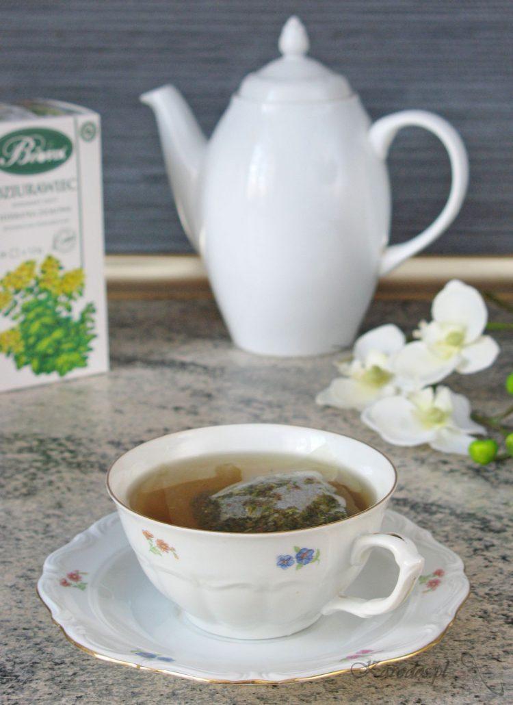 Herbatka z dziurawca na jesienną chandrę