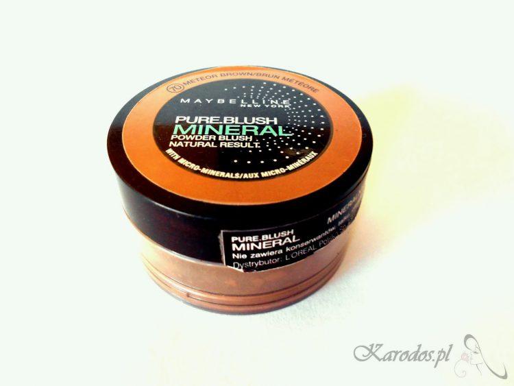 Maybelline, Pur. Blush Mineral - Mineralny róż do policzków