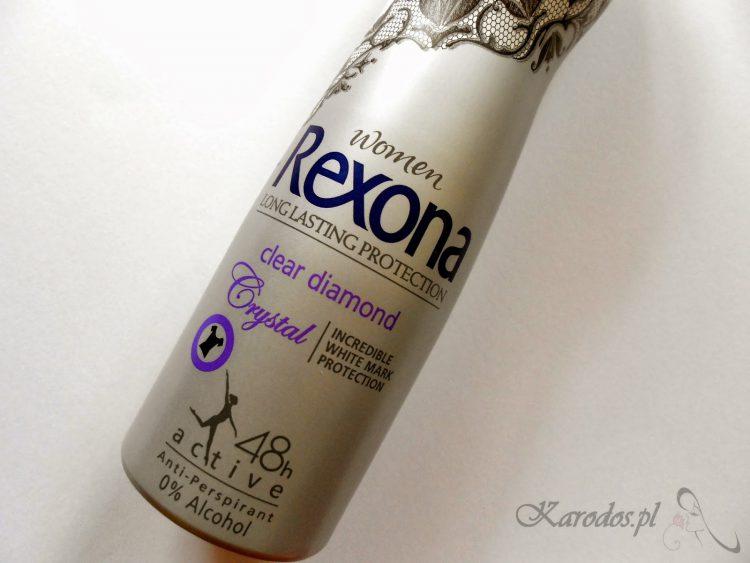 Rexona Women, Long lasting Protection, Clear Diamond 48h - Dezodorant antyperspiracyjny w sprayu