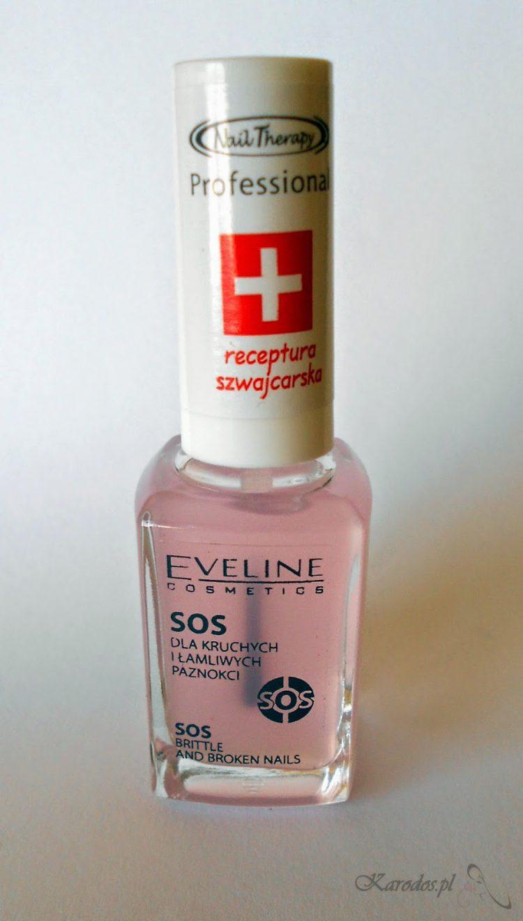 Eveline - Odżywka SOS dla kruchych i łamliwych paznokci