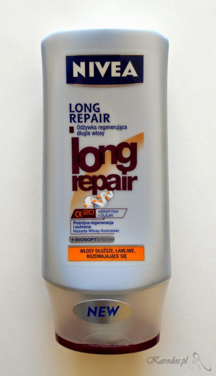 Nivea Long Repair - Odżywka do włosów dłuższych, łamliwych i rozdwajających się