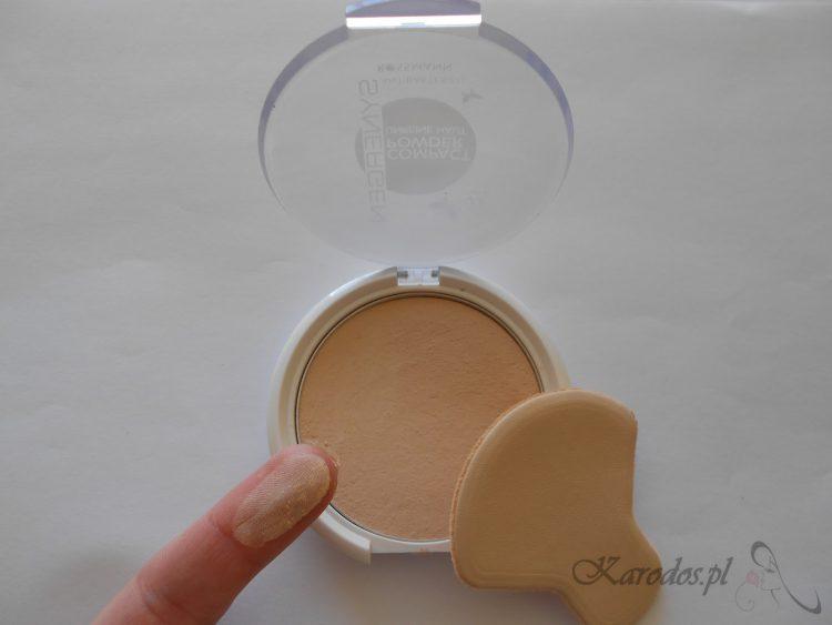 Rossmann, Synergen, Compact Powder - Antybakteryjny puder w kompakcie