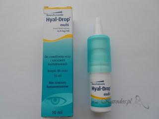 Bausch&Lomb, Hyal-Drop Multi - nawilżające krople do oczu i soczewek kontakotowych bez konserwantów