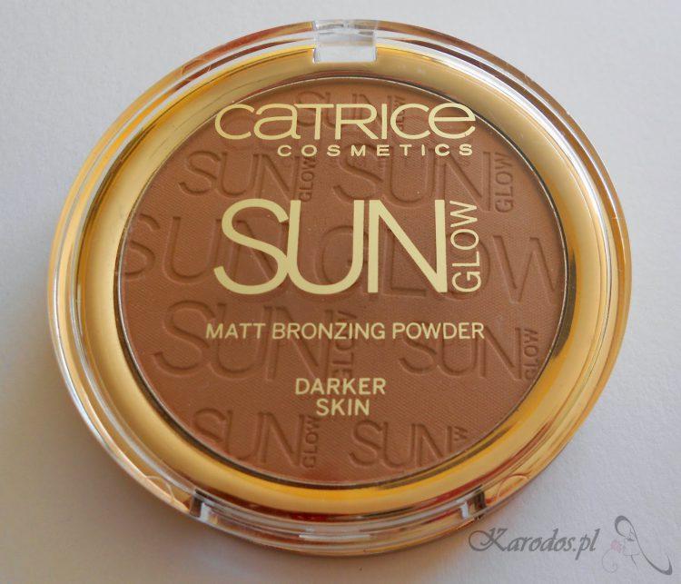 Catrice, Sun Glow, Matt Bronzing Powder - Matujący puder brązujący (020 deep bronze)