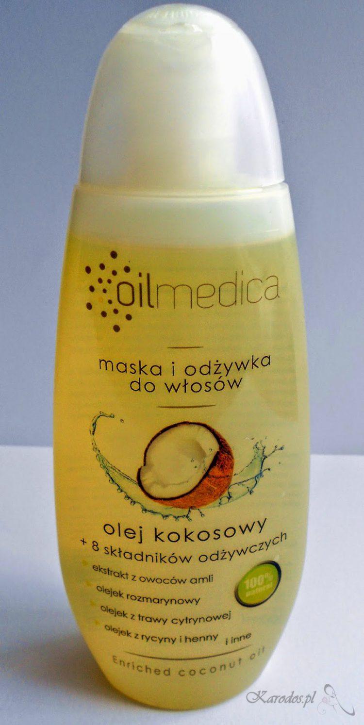 Oilmedica, Olej kokosowy+ 8 składników odżywczych - maska i odżywka do włosów