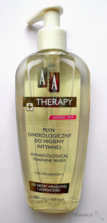 AA Therapy, Płyn ginekologiczny do higieny intymnej do skóry wrażliwej i alergicznej