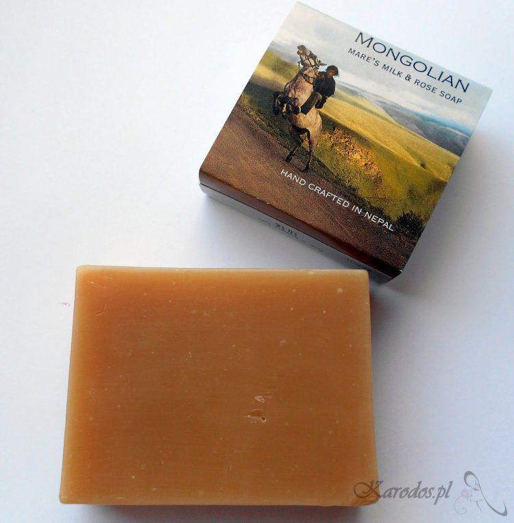 Wild Earth, Różane mydło z mlekiem klaczy mongolskiej