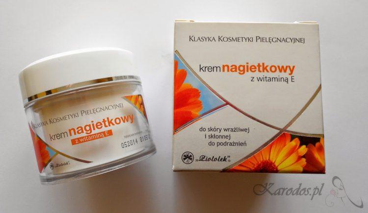 Ziołolek, Klasyka Kosmetyki Pielęgnacyjnej, Krem nagietkowy z witaminą E do skóry wrażliwej i skłonnej do podrażnień