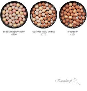 Mariza, Soft&Colour - Puder w kulkach rozświetlający jasny