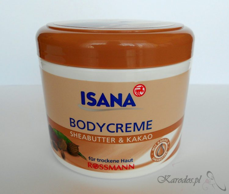 Rossmann, Isana, Body Creme, Sheabutter & Kakao - Krem do