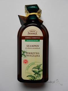 Elfa Pharm, Green Pharmacy - Szampon do włosów normalnych 'pokrzywa zwyczajna'
