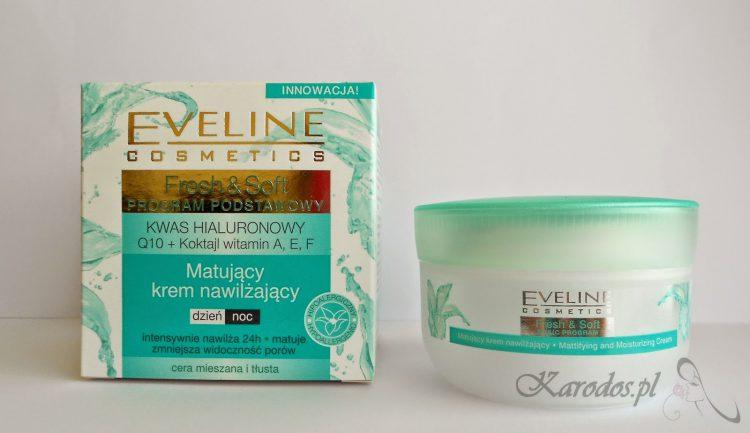 Eveline, Fresh&Soft, Matujący krem nawilżający