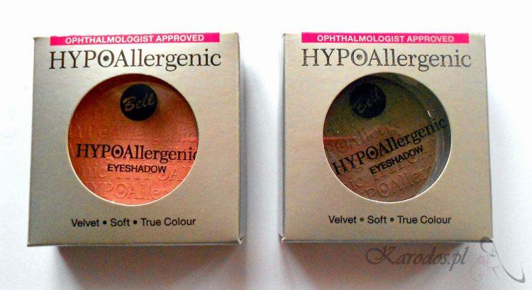 Bell, HYPOallergenic Eyeshadows – cienie do powiek hypoalergiczne (nr 70 i 90)