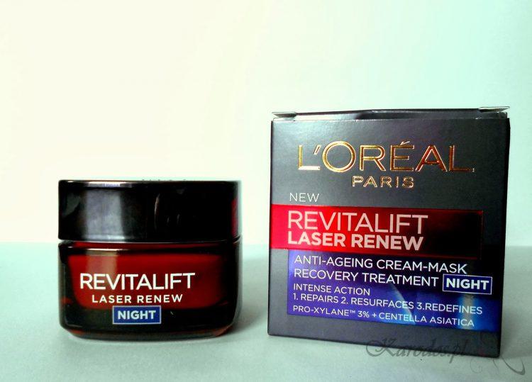 L'Oreal, Revitalift, Laser X3 – krem przeciwzmarszczkowy o mocy lasera na noc