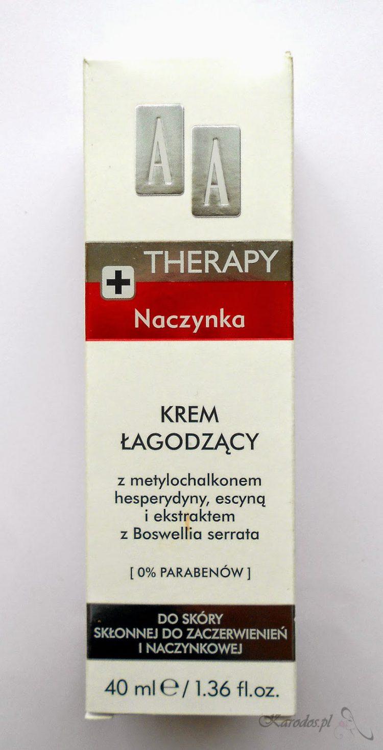 Oceanic, AA Therapy, Naczynka, Krem łagodzący do skóry skłonnej do zaczerwień i naczyniowej