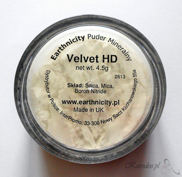 Earthnicity, Velvet HD Finishing Powder – Mineralny puder matujący