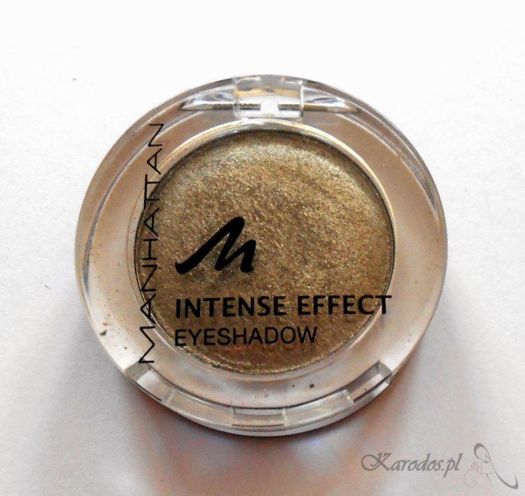Manhattan, Intense Effect Eyeshadow – Pojedyńczy cień do powiek (910G DIM BROWN)