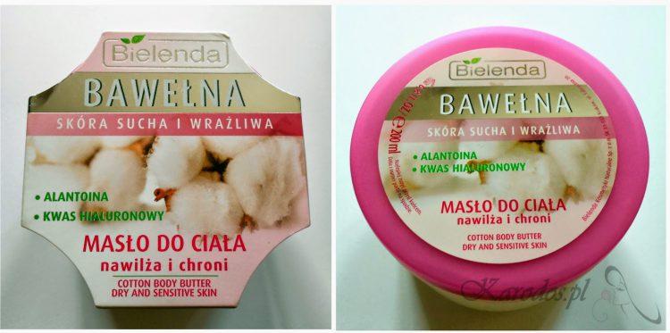 Bielenda, Bawełna, Masło do ciała (skóra sucha i wrażliwa)