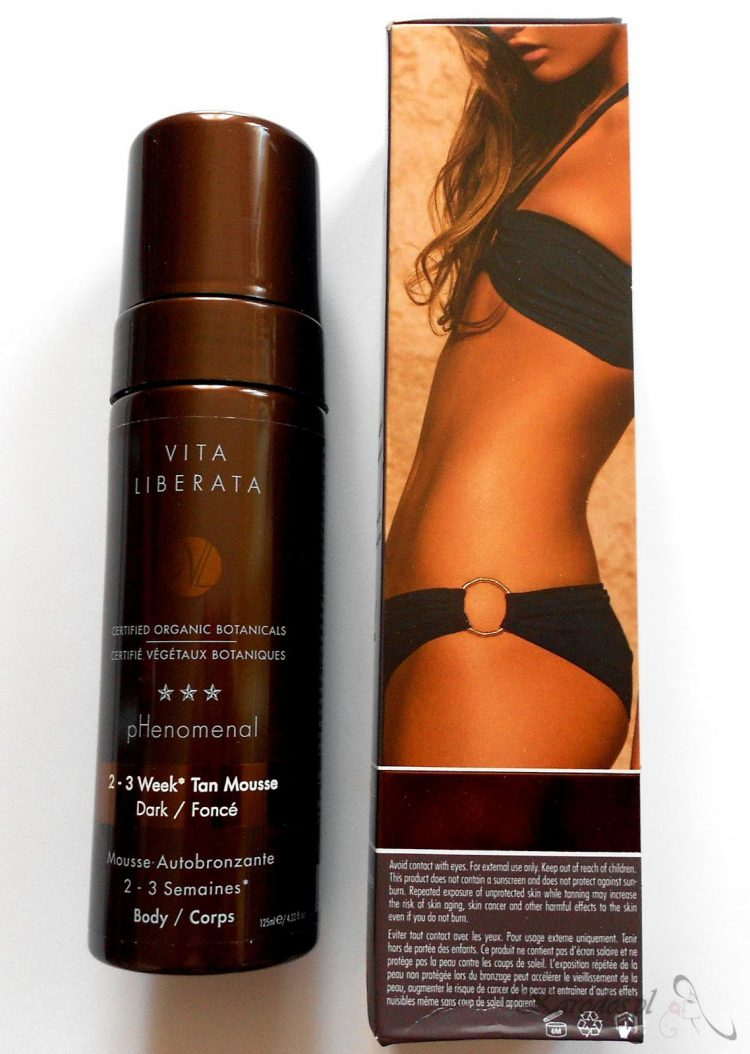 Vita Liberata, Phenomenal 2-3 Week Tan Mousse (Dark) – Piękna opalenizna na 2-3 tygodnie!
