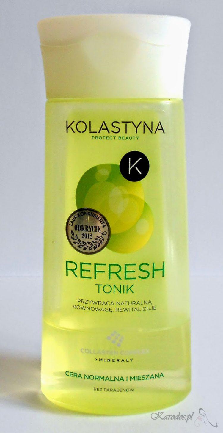 Kolastyna, Refresh, Tonik do cery normalnej i mieszanej – bubel totalny