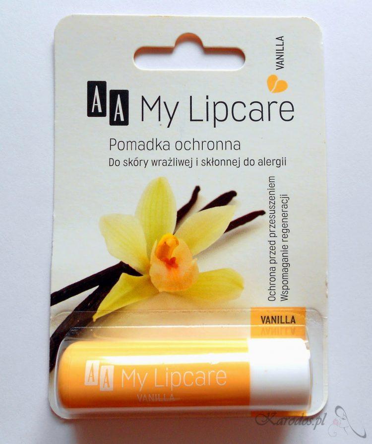Oceanic, AA, My Lipcare Vanilla – pomadka ochronna do ust (waniliowa)