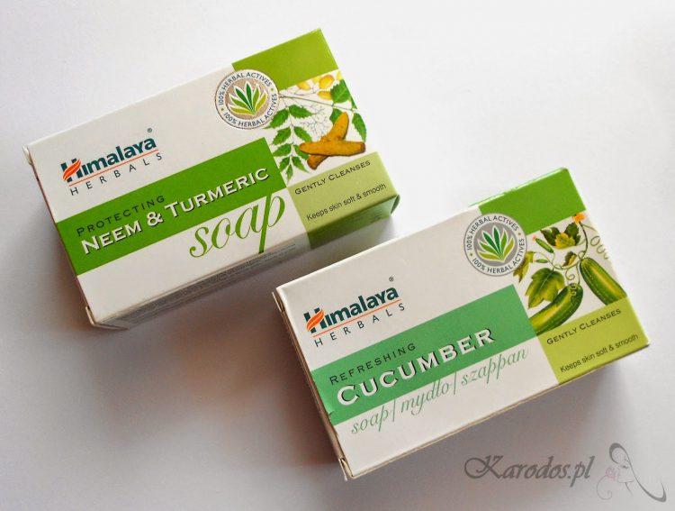 Himalaya Herbals, Mydła 'Neem&Turmenic' oraz 'Cucumber'