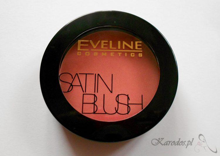 Eveline, Satin Blush, Modelujący róż do policzków (02 Desert Rose)