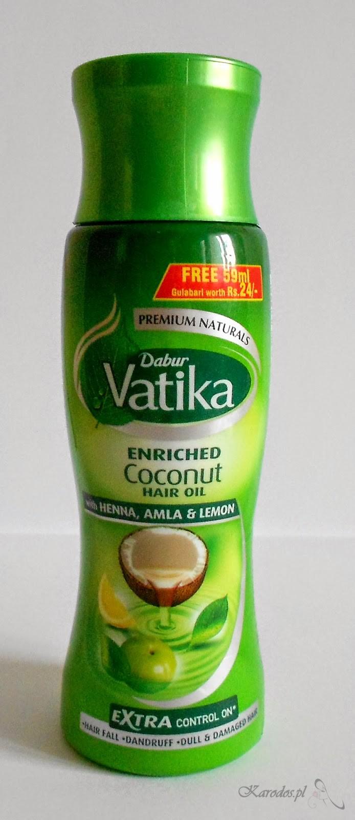 Dabur, Vatika, Olejek kokosowy do włosów